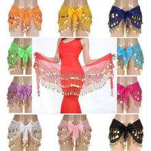 Top quality best selling belly dance half circle veils