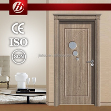2014 Hot Sale P-40 simple design Interior pvc wooden door