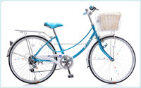 "Tianjin Bicycle Factory In China Cheap Price 26"" City Bike For Lady"