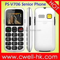 Quad Band GSM large keypad with large screen mobile phone