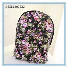 backpack flower, cute laptop backpacks for girls, south korea backpack
