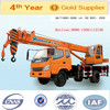 China 2015 year,Yugong brand,new 5 teles section arm,10 ton wheel type truck crane with 26m lifting height, ISO9001 certificate