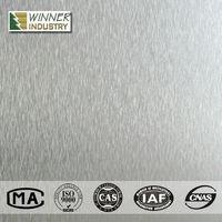 metallic high pressure laminate sheets / metal sheet aluminum