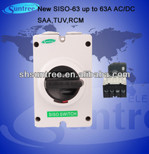 RCM SISO-63 Double Pole Isolating Switches up to 63A