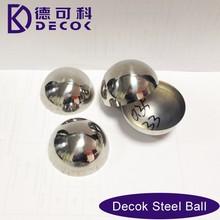 2015 new stainless steel hemispherical steel ball for flower basket ornament