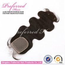 16 Inch New Style Body Wave Queen Preferred Silk Lace Closure,1b#