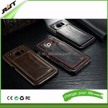 Newest LEATHER Phone Case For Samsung Galaxy S6 edge with stand function card holdes on back special design stand case
