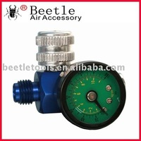 Air regulator with 0-160psi gauge