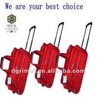 2015 colourful leisure 1680D travel trolley bag with superior quanlity wheels