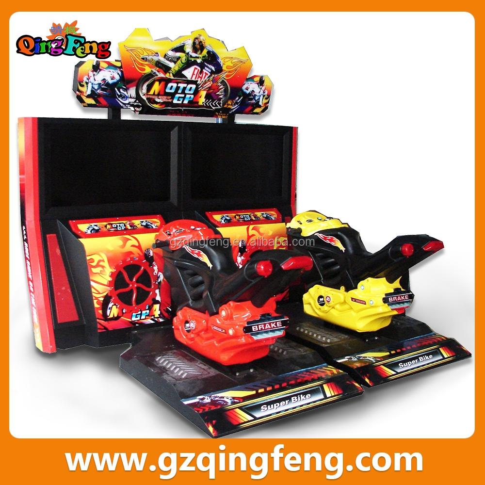 Qingfeng Discount Electronic Racing Game Machine Crazy