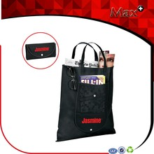 Hot Non Woven Pocket Foldable Shopping Bag With Customized Printing
