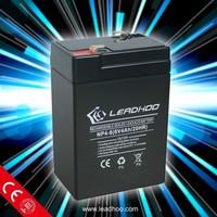 6v 4ah rechargeable lead acid battery gel ups battery 6v 4ah 6v 4.5ah for electric scale