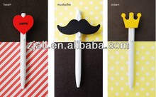 nice design cheap promotional heart pens