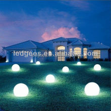 rgb led ball for chrismas decoration/festive ball lighted