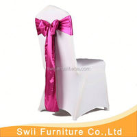 wedding chair hood spandex chair cover and table cloth