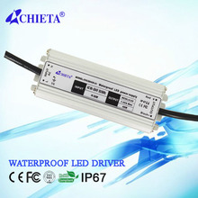 Water Resistant 45W LED Constant Current Source Power Supply Driver