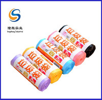 coreless roll garbage bags with wrapping paper