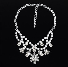 2015 New Popular party jewelry high quality fashion wedding necklaces