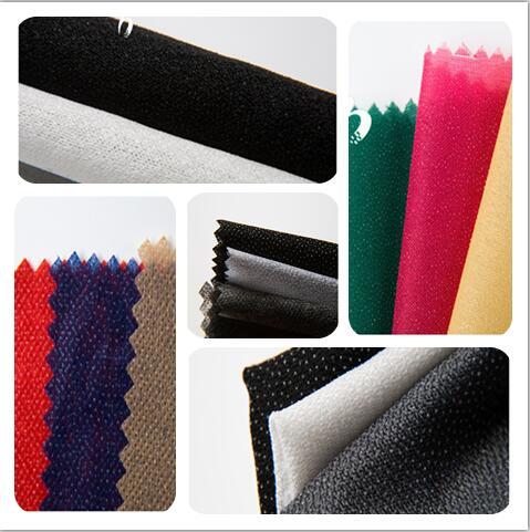 адгезивное плавление плавкие interlining textile 100% pes прокладка полиэфирной основы трикотажные ткани сетки interlining