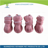 Lovoyager pet supplement winter dog paws protection dog boots