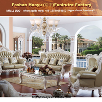 royal dubai white leather sofa, high end living furniture
