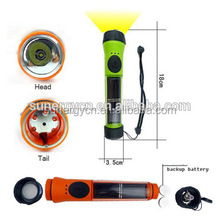 2015 hot selling model STF81 with waterproof 1pc LED 0.5W Solar panel Rechargeable mini led torch waterproof