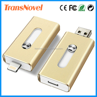 Manufactory alibaba golden supplier cheap wholesale 64GB newest otg usb flash drive for iphone