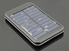 (Top Sell) 10000mAh Solar Power Bank for smart phone,different color for your choice