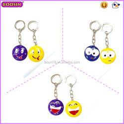 Metal Emoji Key chain Promotion Gift Key chain for Souvenirs Cheap Promotional Keychains 15766