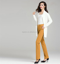 2015 New Style Women Trousers OEM and ODM women's Casual professional trousers