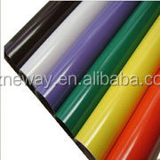 opaque /with no mark/ pvc80mic liner120gsm /width 1.09/1.22M /customized length /stretchable /pvc vinyl for cutting plotter