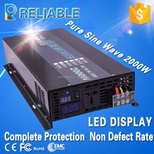 manufacturer supply 48v to 240v 2kw off grid pure sine wave solar system power inverter from zhejiang