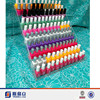 High Transparent Multi Tires Acrylic Nail Polish Display Wall Rack/ Acrylic Nail Polish Display Shelf