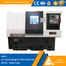 TCK45L Maintenance of Manual or Not CNC Lathe Machine with Chuck