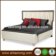 De cuero de madera <span class=keywords><strong>cama</strong></span> diseños
