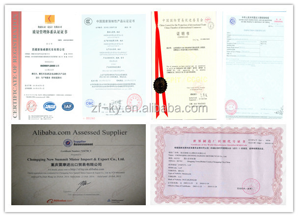 motorcycle certificate