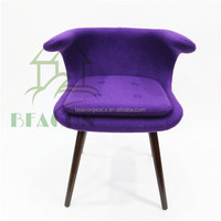 Bo Strange Frost Chair, fabric upholstery coffee shop chair