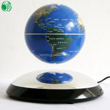 Christmas gift auto free rotation magnetic floating globe big gift box