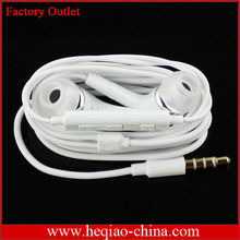 New arrival headphone for Samsung S3 with mic and volume control with good quality