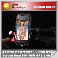New !! 4 inch rugged GPS shockproof waterproof dustproof cell phone IP68 rugged mobile phone