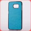 2015 hybrid case,plastic+pu case for samsung galaxy s6 edge cover,plastic case cover for samsung