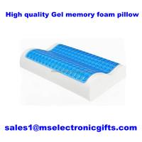 OEM Summer Contour Polyurethane Memory Foam Cool Gel Pillows Ice Gel Pillows