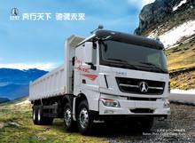North Benz 8x4 4 axles 336hp 50t-60t 90km/h heavy duty dump truck(WEICHAI engine, North BENZ technology)