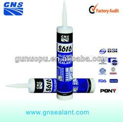 Dark greynatural cure silicone water tank sealant