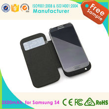 2015 wholesale mobile phone charging protect case /backup charging case for Samsung S4 with 3500mah