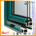 perfil de aluminio de diseño de la ventana