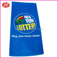 New products 280gsm 70*140cm CMYK printing cotton beach towel&custom beach towel&beach towel clips made in China