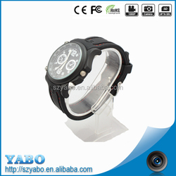 New waterproof MP3 camera watches 30 frames per second HD 720P