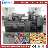2014 New Style Flat Lollipop Packing Machine For Lollipop Process