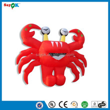 Hot sale inflatable advertising crab model